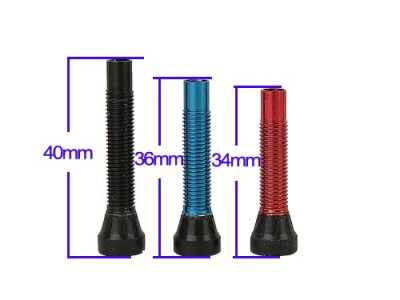 Aluminium Tubeless Valve Stem Lengths